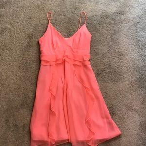 Nannette Lepore neon pink Cocktail dress